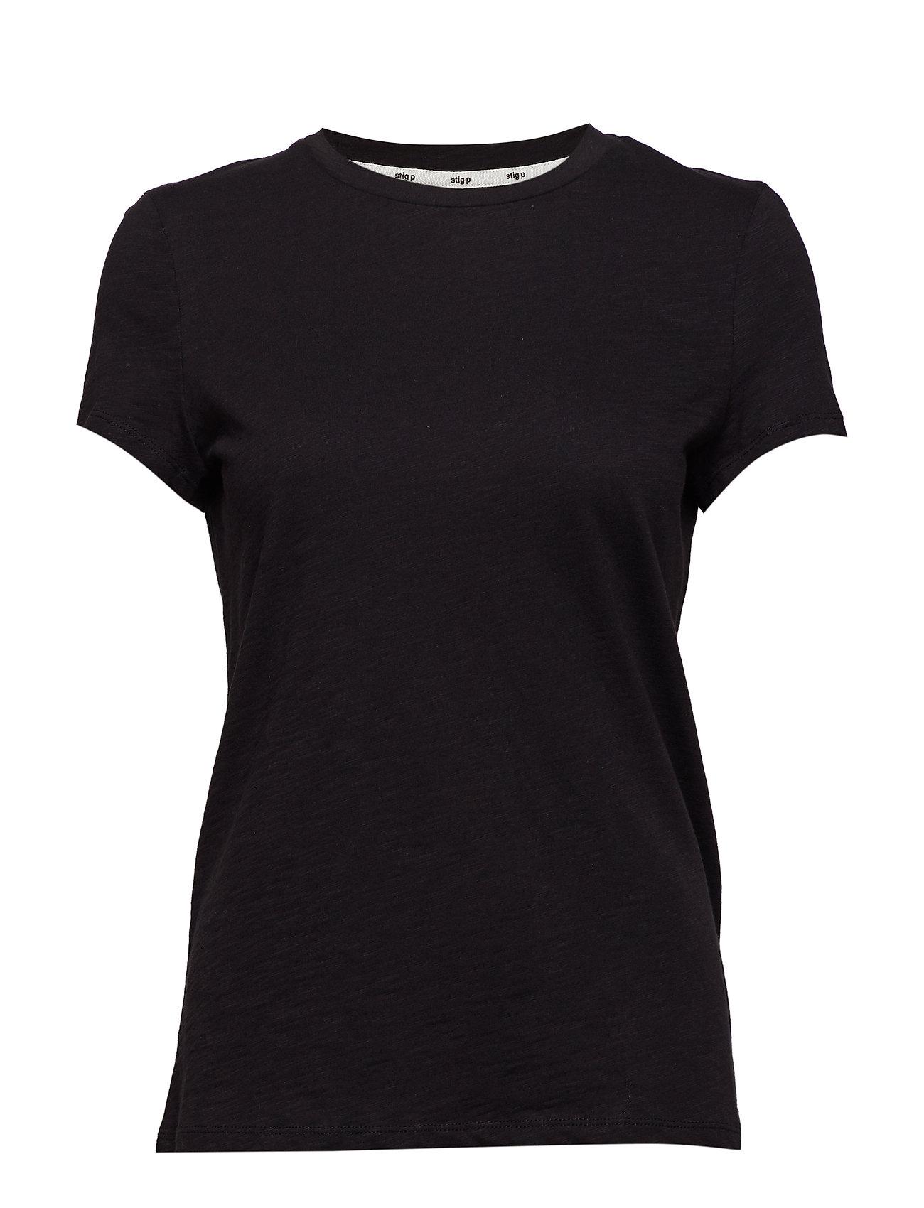 Stig P Awa organic T-Shirt - BLACK