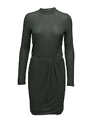 Evan dress - DARK GREEN 75