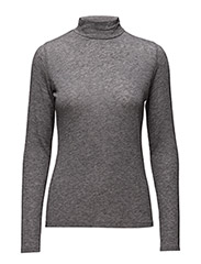 ROSA Crew neck light knit - 84 GREY MELANGE