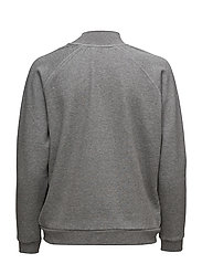 Kirsa High neck sweatshirt - GREY MEL