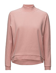 Kirsa High neck sweatshirt - ROSE
