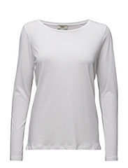 Luna Long sleeve t-shirt - 01-WHITE