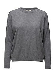 Vanessa Round neck knit - GREY