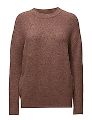 Safia Knit Round-neck - MISTY ROSE 33