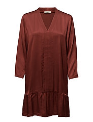 Ester dress - BURNT AMBER 25