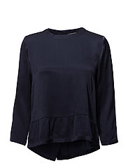 Estrid blouse - MIDNIGHT BLUE 56