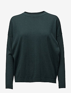 Vanessa Round neck knit - GREEN