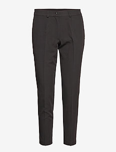 Alma Trousers - raka byxor - 99-black
