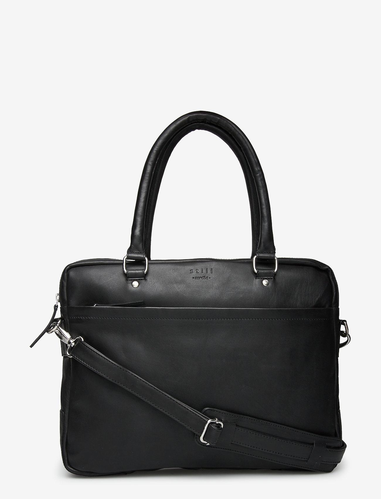 Still Nordic - Tommy Brief 1 Room - briefcases - black - 0