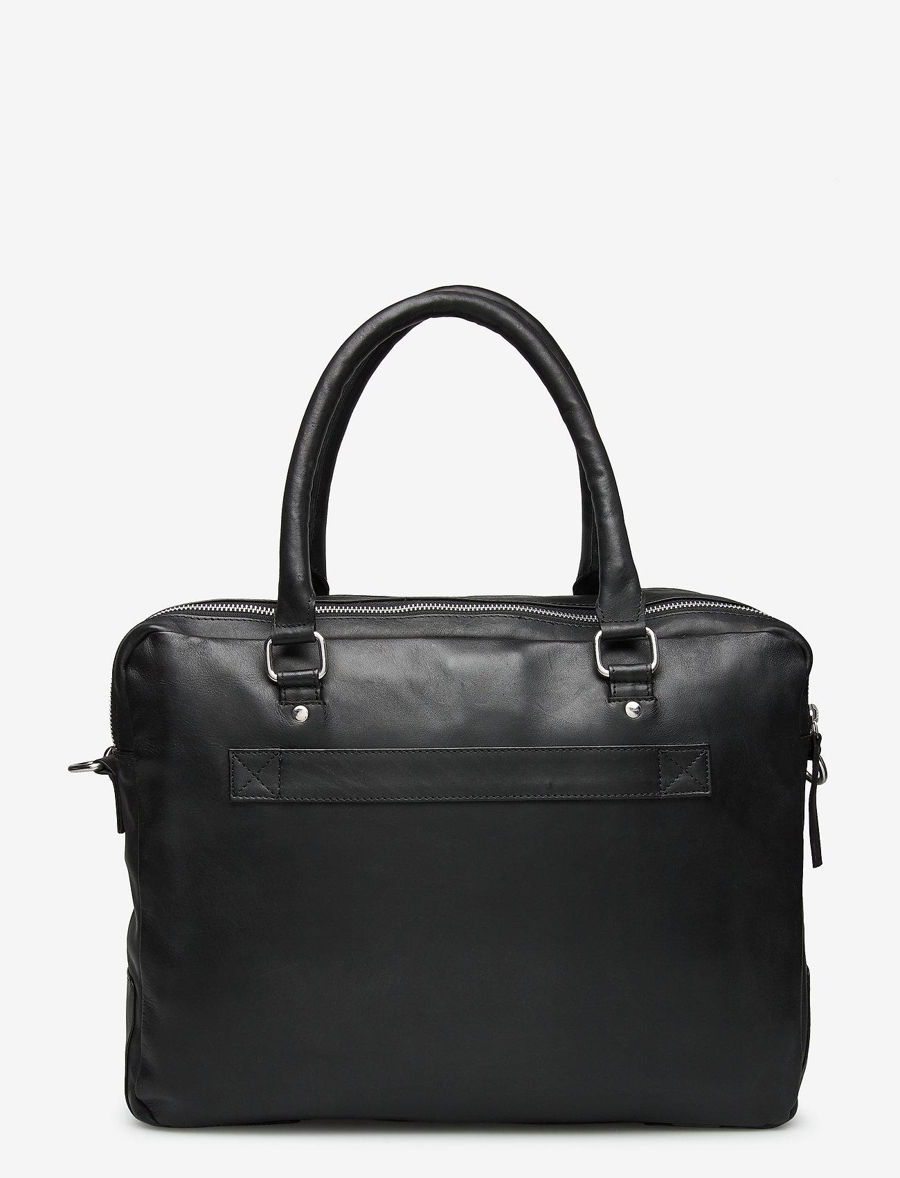 Still Nordic - Tommy Brief 2 Room - briefcases - black - 1