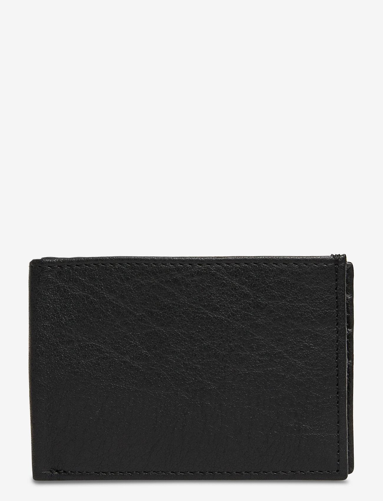 Still Nordic - Air Wallet w/flap - klassinen lompakko - black