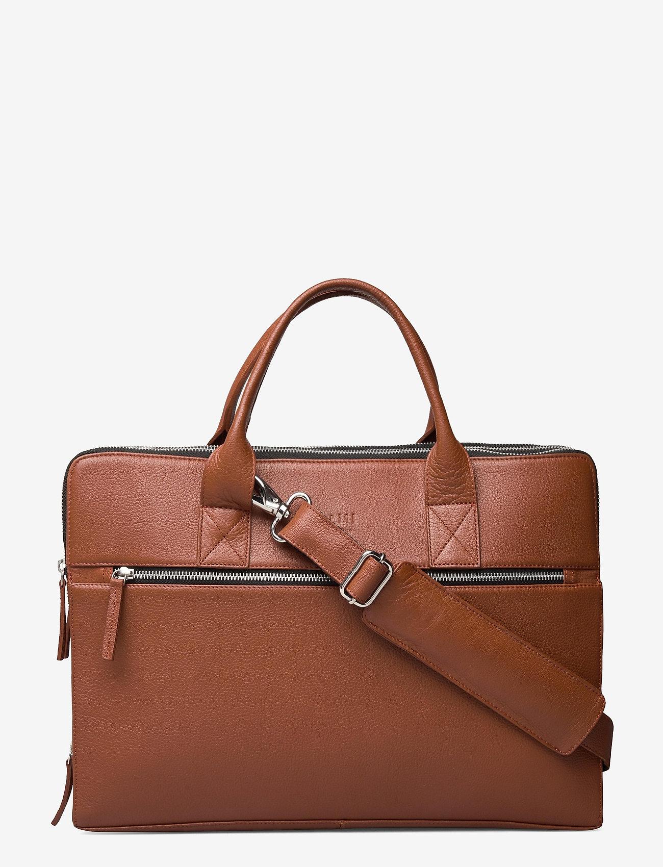 Still Nordic - Clean Brief 3 Room - briefcases - cognac - 0