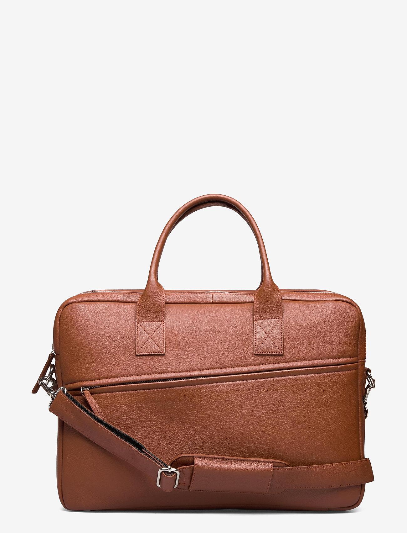 Still Nordic - City Brief 2 Room - briefcases - cognac - 0