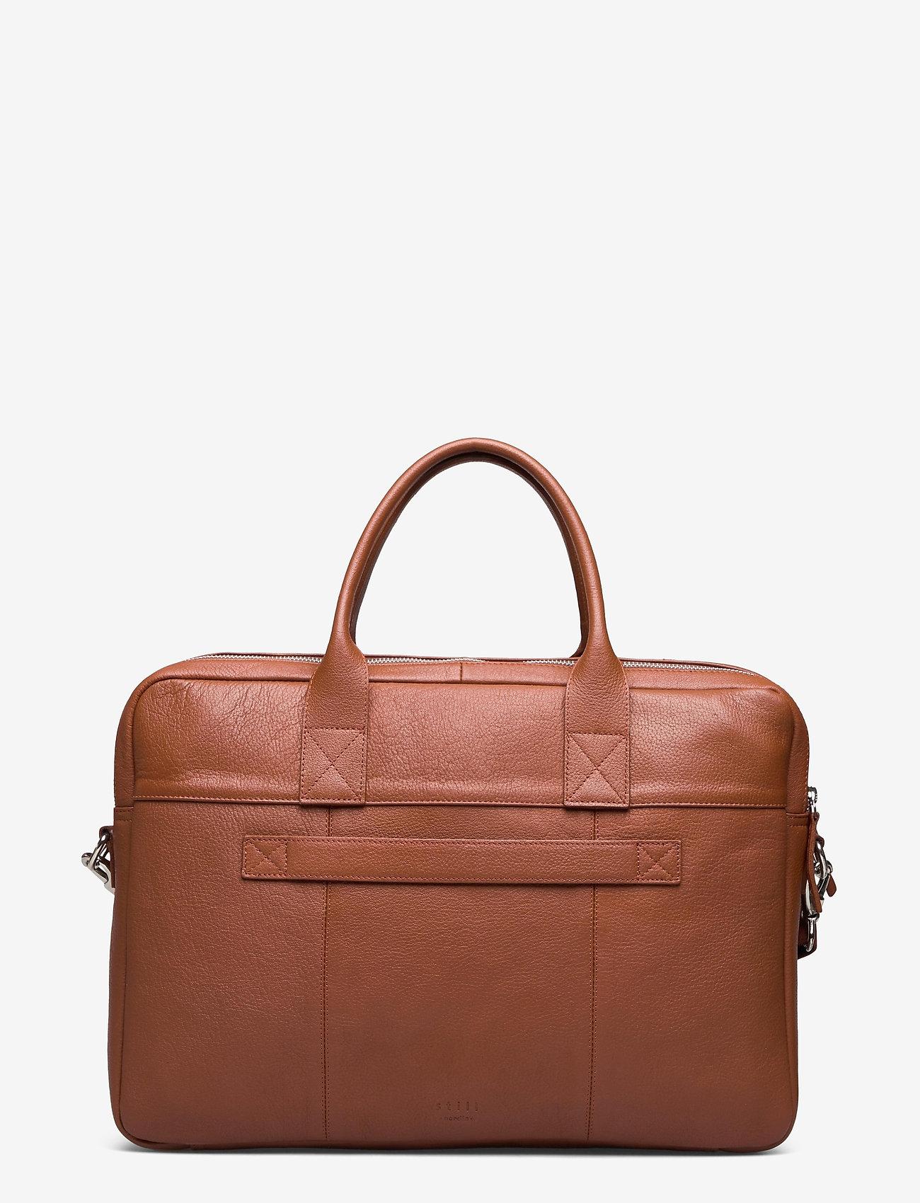 Still Nordic - City Brief 2 Room - briefcases - cognac - 1