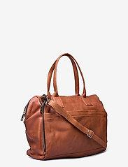 Still Nordic - Anouk Work Bag - viikonloppulaukut - vintage cognac - 2