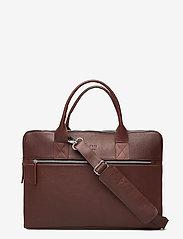 Still Nordic - Clean Brief 3 Room - briefcases - brown - 0