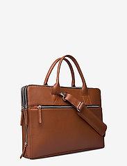 Still Nordic - Clean Brief 3 Room - briefcases - cognac - 2