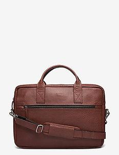 """Clean Brief 1 room 15"""" - laptop-väskor - brown"""