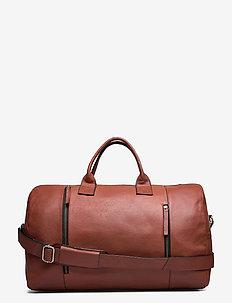 Clean XL Weekend Bag - weekendtasker - cognac