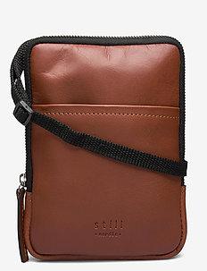 Clean Mini Messenger - sacs à bandoulière - cognac