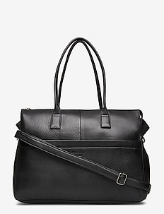 "Anouk Brief 13"" - top handle tasker - black"