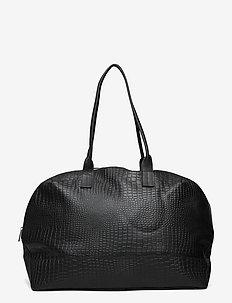 Petra Weekend Bag - viikonloppulaukut - black