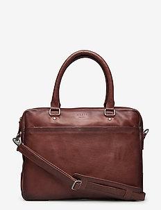 Tommy Brief 1 Room - laptop-väskor - brown