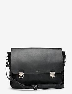 Tommy Messenger Workbag - väskor - black