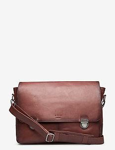 Tommy Messenger Workbag - väskor - brown