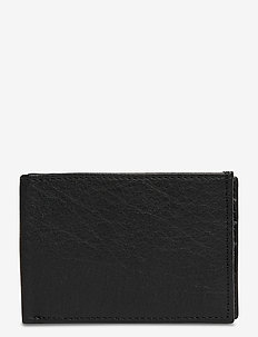 Air Wallet w/flap - klasyczny portfel - black