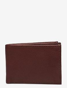Air Wallet w/flap - klasyczny portfel - brown