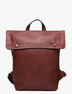 Thor Flap Backpack - ryggsäckar - brown