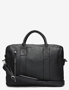 Dundee Clean Brief 2 Room - laptoptassen - black