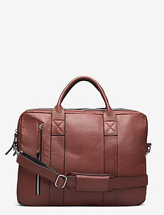 Dundee Clean Brief 2 Room - laptoptassen - brown