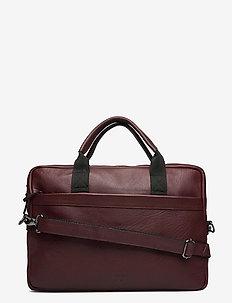 Sami Brief 1 Room - briefcases - zinfandel