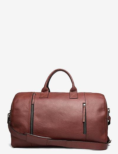 Clean XL Weekend Bag - viikonloppulaukut - brown