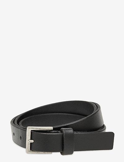 Lyon belt - vyöt - black