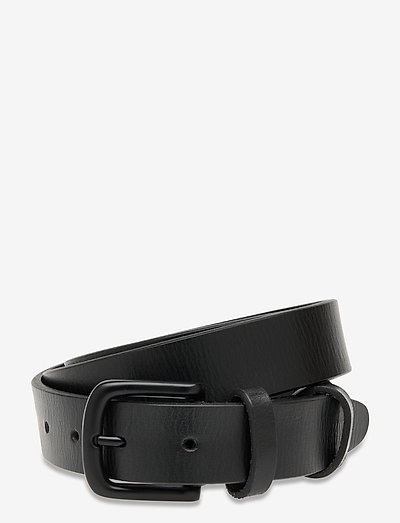 Hamburg belt - vyöt - black