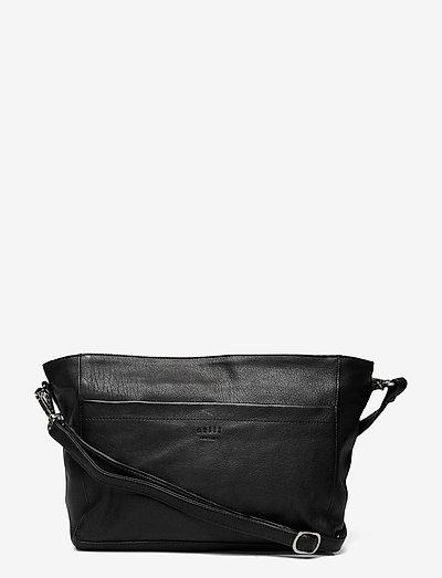 Anouk Shoulder Bag - crossbody bags - black