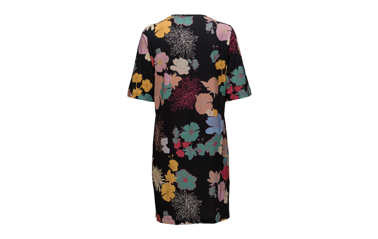 374 100 Goya Stine Flowers Edith Coton Jersey Dark E1UAqUw