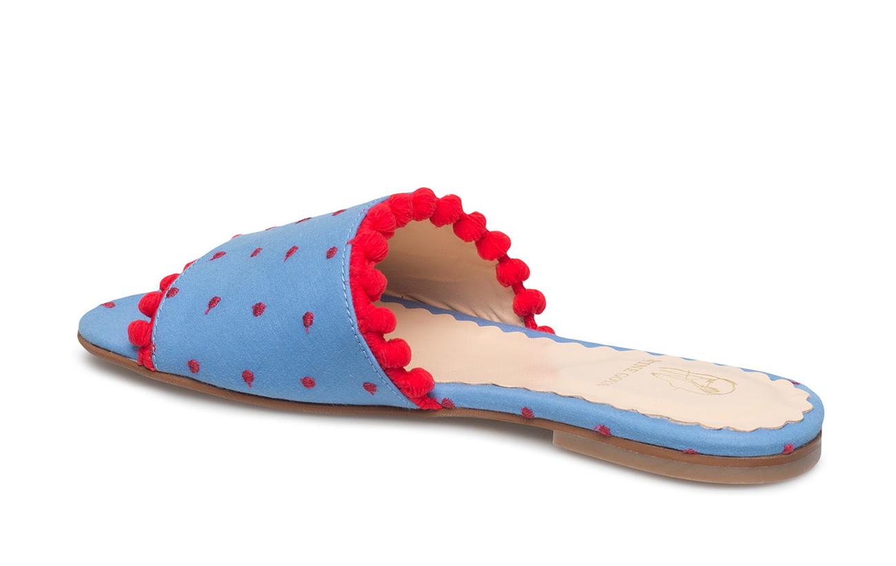 Goya Pompom DotsStine Shoesblue Seya405 Seya405 Pompom DotsStine Pompom Seya405 Goya Shoesblue j53Rqc4AL