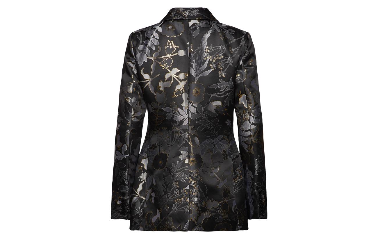 10 Polyester Flowers 475 44 Goya Dark Tailoring Iris Viscose Métallique Woven 46 Stine H6PvwXfxq6