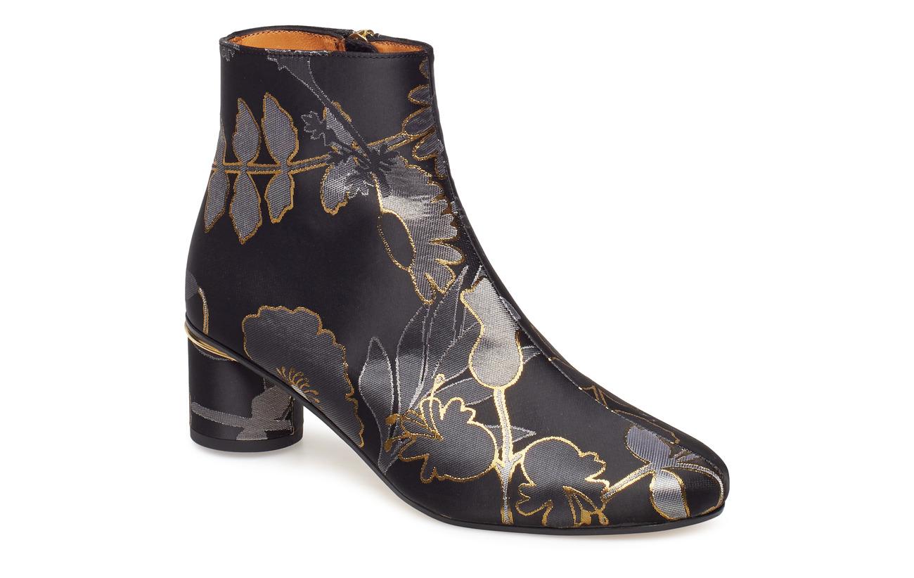 STINE GOYA Kansas, 499 Flowers Dark Shoes - FLOWERS DARK