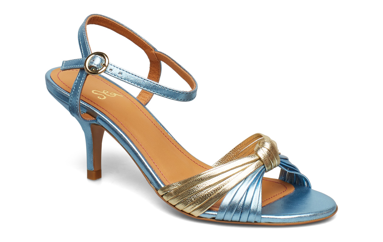 STINE GOYA Olly, 599 Metallic Leather Shoes - 1135 METALLIC