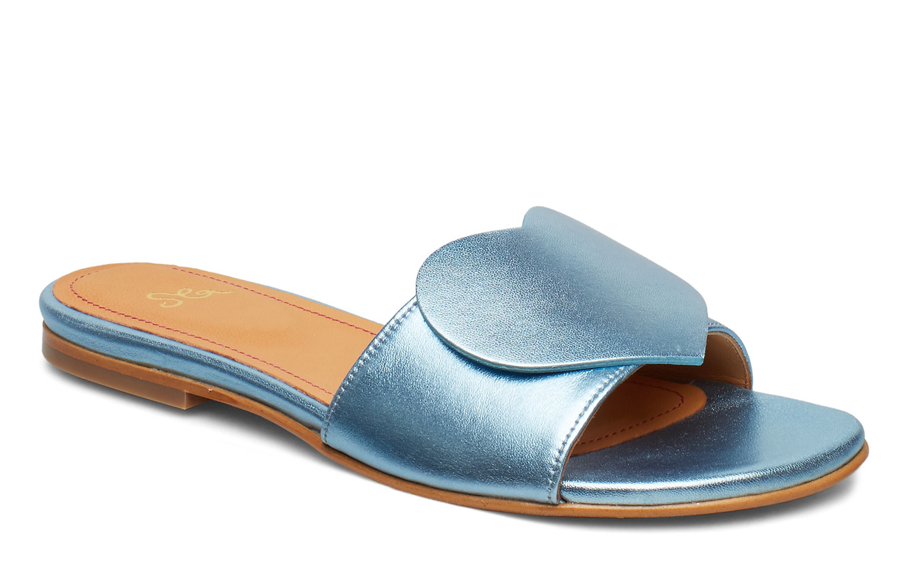 STINE GOYA Amina, 599 Metallic Leather Shoes - 1135 METALLIC
