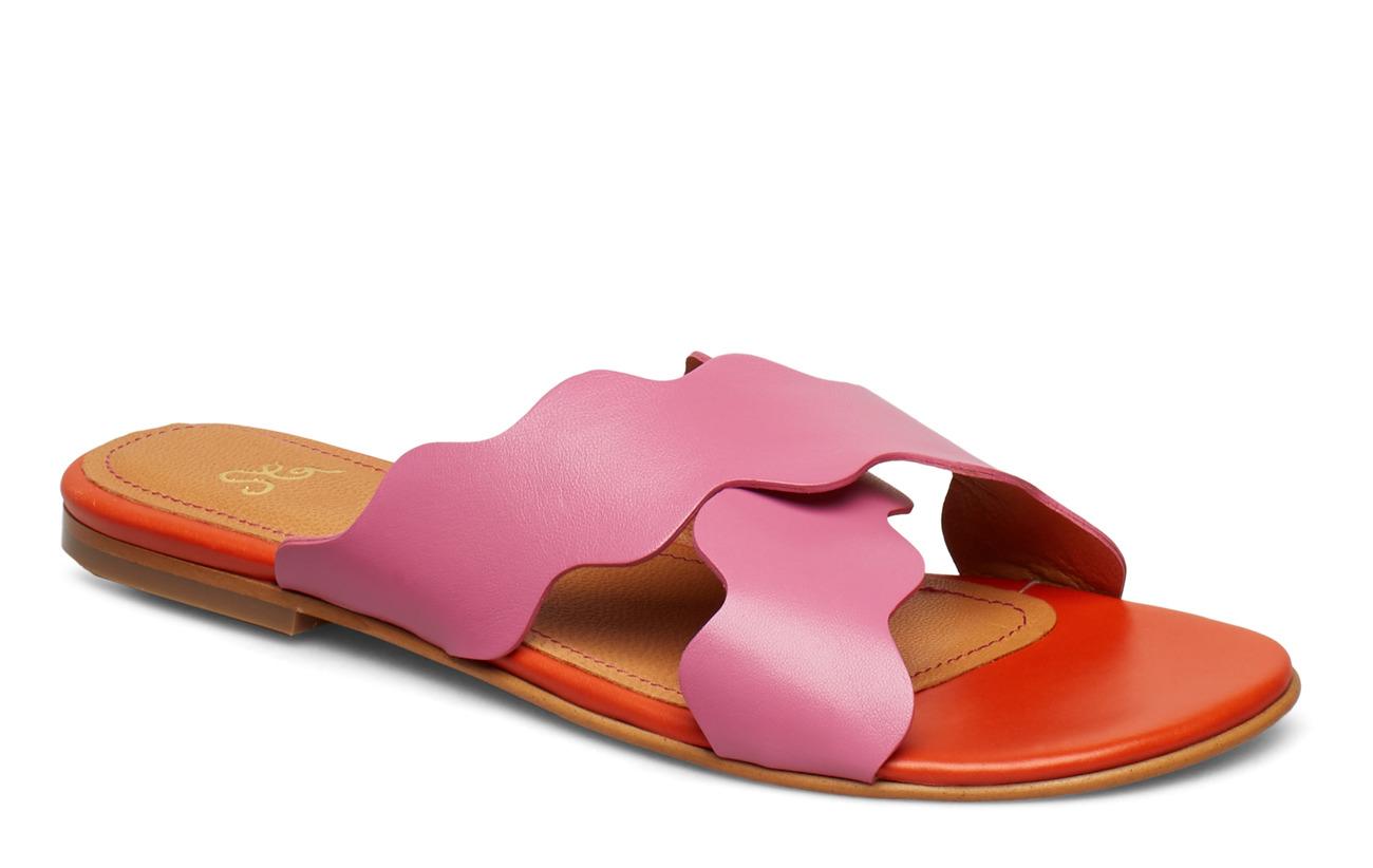 STINE GOYA Christy, 587 Leather Shoes - 1448 HOT PINK