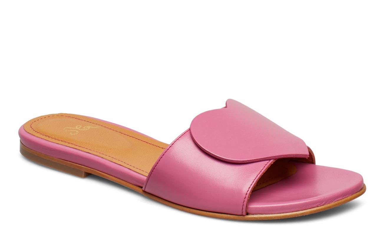 STINE GOYA Amina, 587 Leather Shoes - 1448 HOT PINK