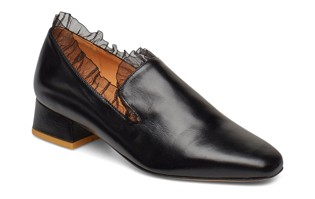 STINE GOYA Sigrid, 591 Ruffle Shoes - 1901 BLACK
