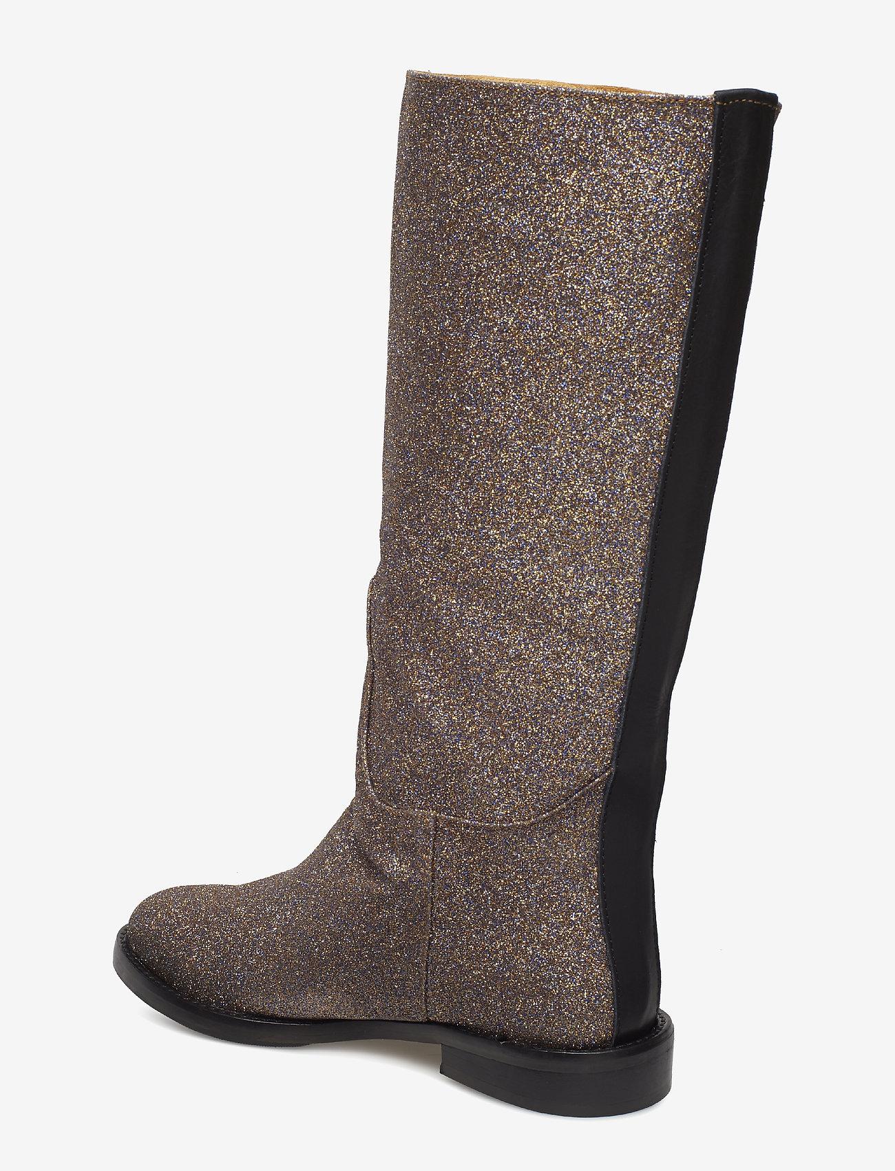 Kasia, 455 Glitter Shoes (Violeta Glitter) - STINE GOYA