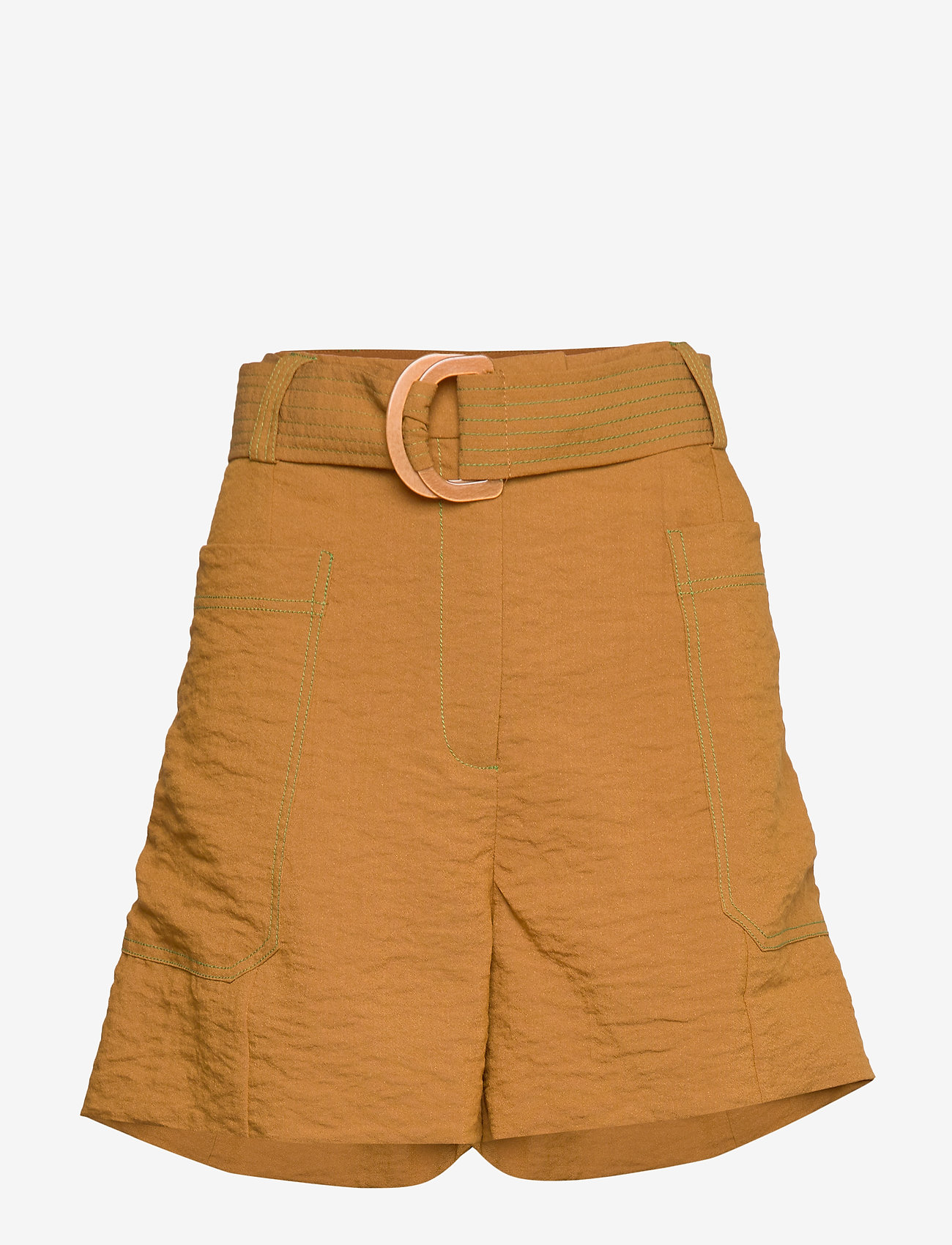 STINE GOYA - Sol, 793 Dry Woven - casual shortsit - golden brown - 0